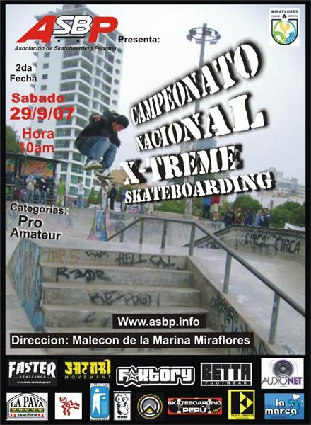 Campeonato Nacional XtremeSkateboarding!!!